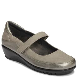 A2 by Aerosoles Agenda Silver Combo Mary Janes