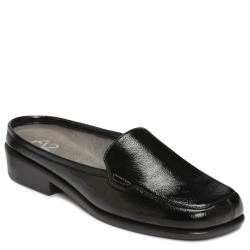 A2 by Aerosoles Duble Play Black Patent Loafers