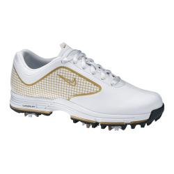 Nike Women's Lunar Links White/ Gold Golf Shoes