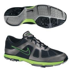 Nike Men's Lunar Ascend Black/ Green Golf Shoes (Blem)