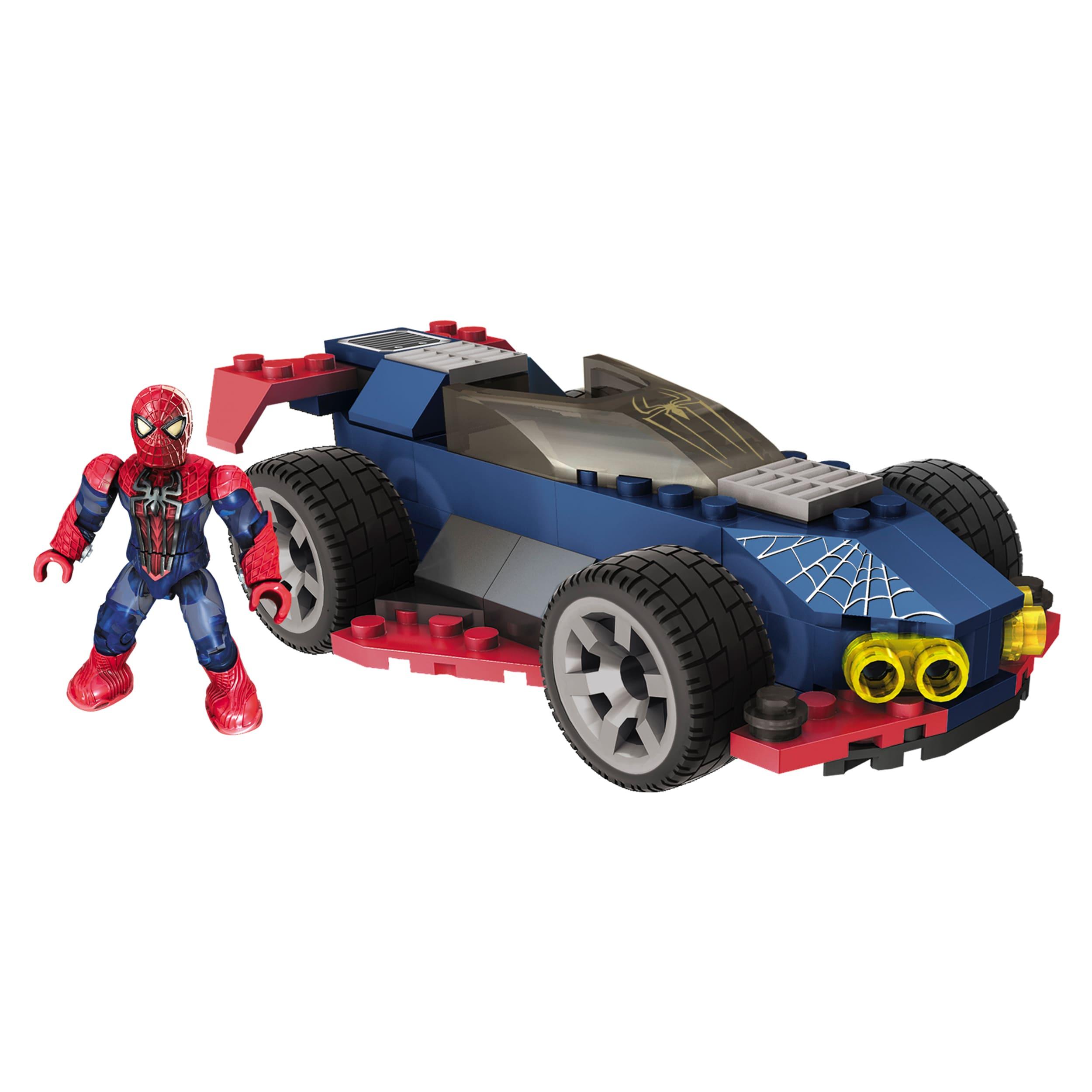 Mega Bloks Amazing Spider-Man Stealth Speeder Playset