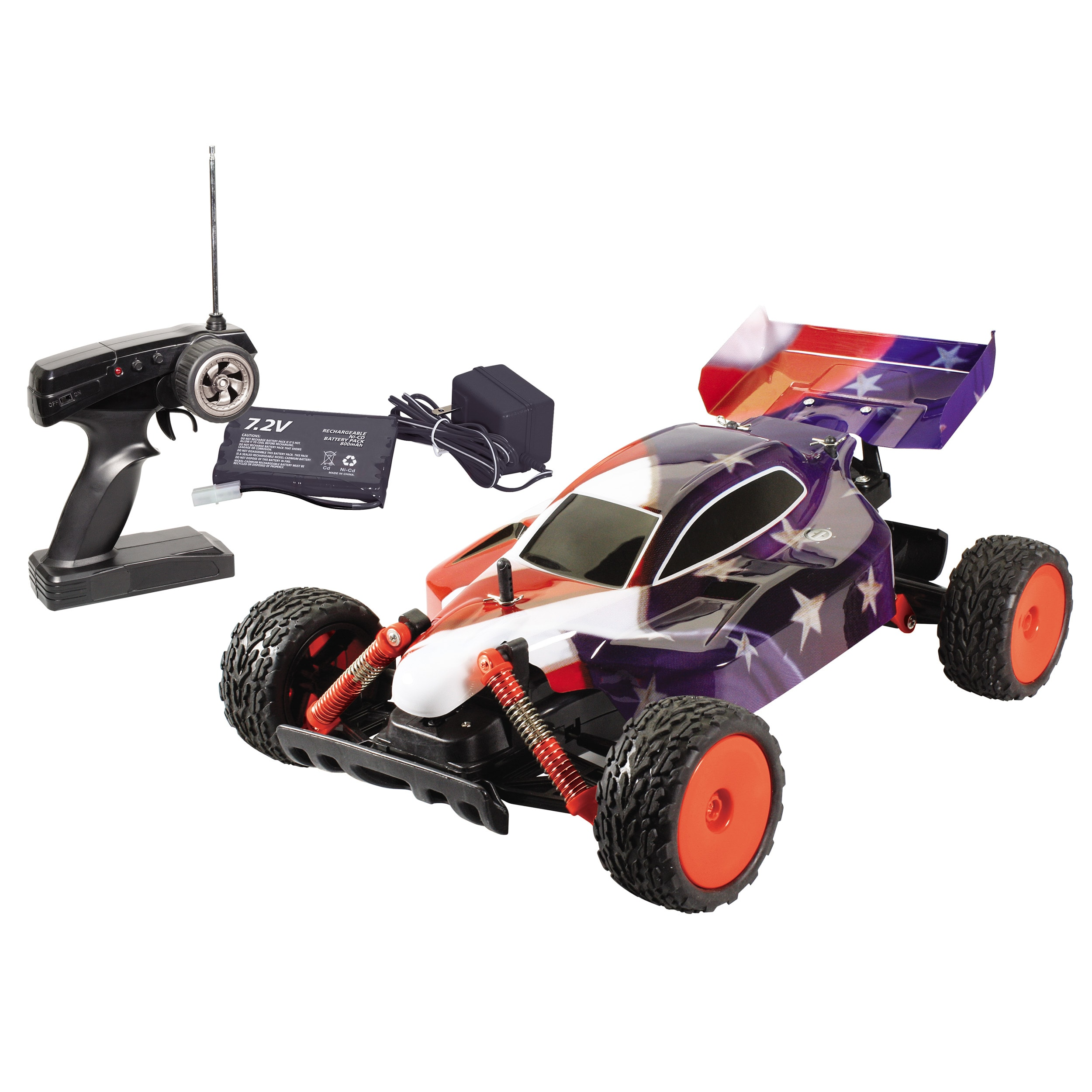 World of Wheels 'Stars and Stripes' RC Baja Racer