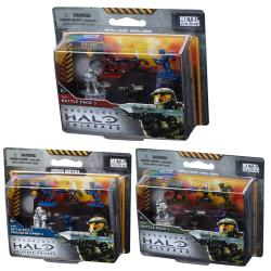 Mega Bloks Halo Troop Micro Action Figures Set