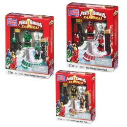 Mega Bloks Power Rangers Samurai Hero Packs Assortment