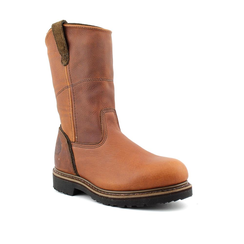 "Georgia Men's 'G4318 11"" Wellington Work Giant' Leather Boots"