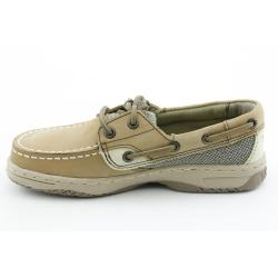 Sperry Top Sider Boy's 'Bluefish' Nubuck Casual Shoes Wide