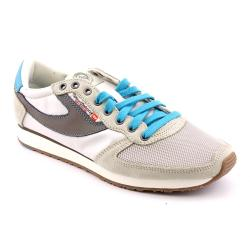 Diesel Men's 'Pass On' Leather Athletic Shoe