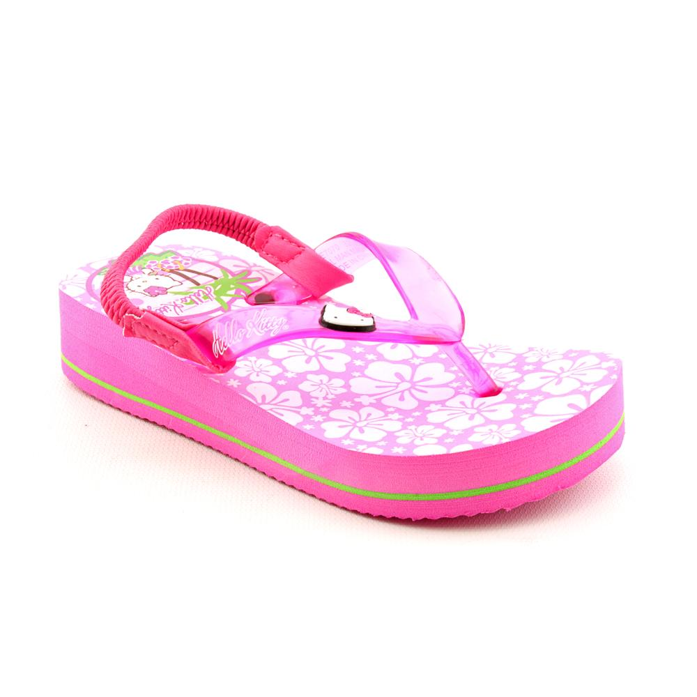 Hello Kitty Girls Lil Hula Man Made Sandals