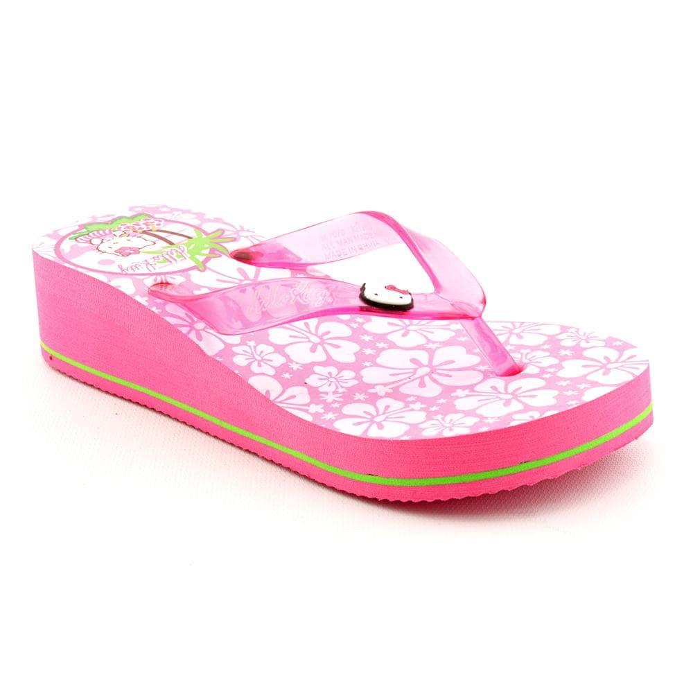 Hello Kitty Girls Hula Man Made Sandals