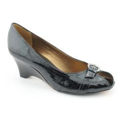 Z Collection Women's 'Buccheri' Patent Leather Dress Shoes (Size 10)