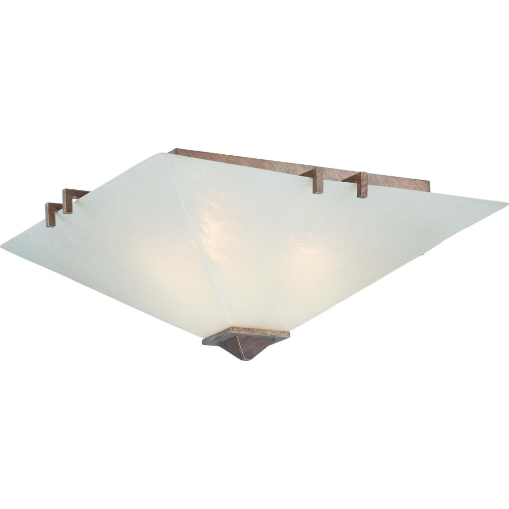 Nuvo Lighting 3-light Flush Fixture