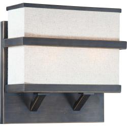 Skyline 2-Light Bali Bronze Wall Sconce