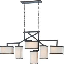 Nuvo Lighting Bronze Six-light Island Pendant