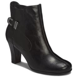 A2 by Aerosoles Role Out Black Ankle Boot