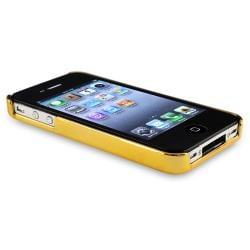 Black Carbon Fiber Case/ Travel/ Car Charger for Apple iPhone 4 4S