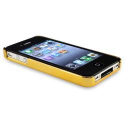 Black Carbon Fiber Case/ Phone Holder for Apple iPhone 4/ 4S