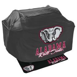 Alabama Crimson Tide Grill Cover and Mat Set