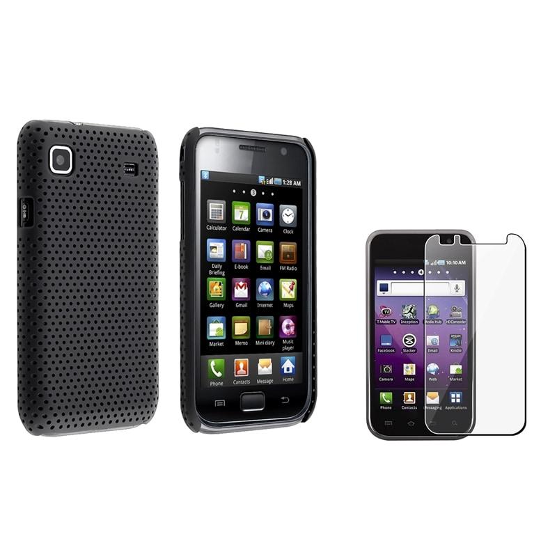Black Mesh/ Screen Protector for Samsung Galaxy S 4G SGH-T959v