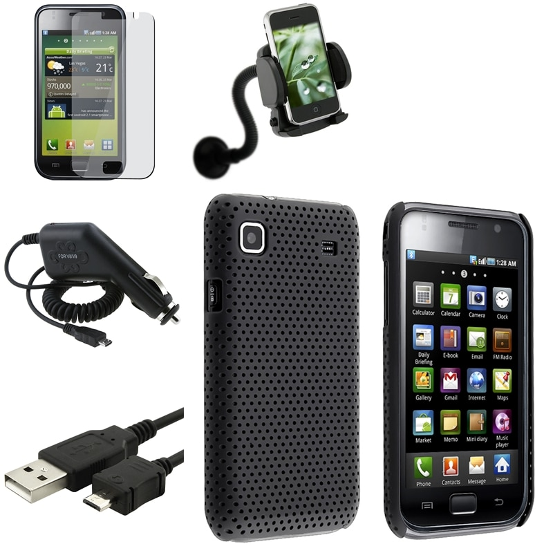Case/ Protector/ Charger/ Holder/ Cable for Samsung Galaxy S GT-i9000