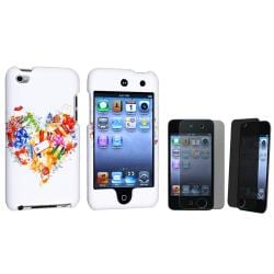 Rubber Case/ Privacy Filter for Apple� iPod Touch Generation 4