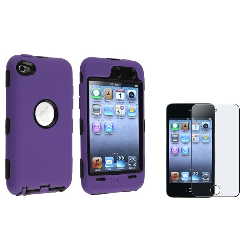 Case/ Anti-Glare Screen Protector for Apple® iPod Touch Generation 4