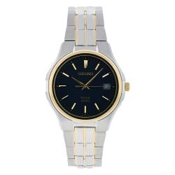 Seiko Men's Solar Stainless Steel Watch