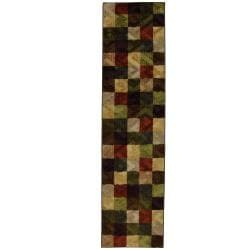 Metro Square Multi Runner Rug (2' x 8')