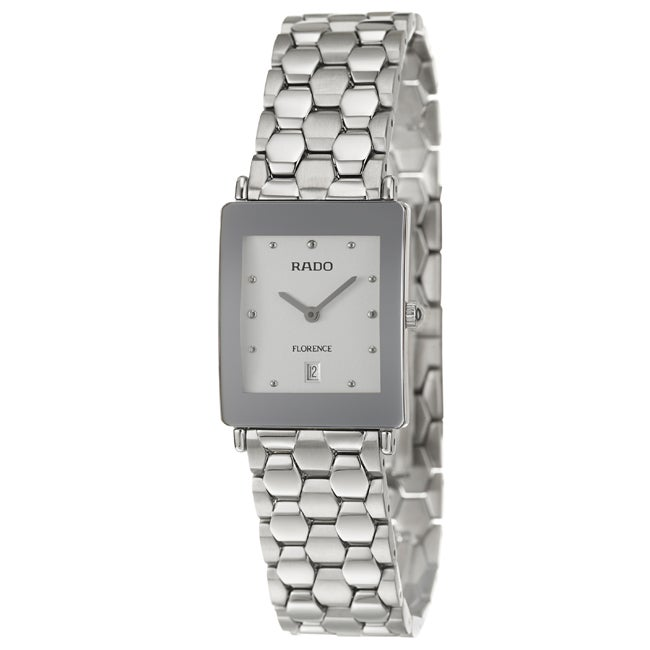 Rado Women's 'Florence' Stainless Steel Watch
