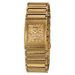 Rado Women's 'Integral' Gold-plated Stainless Steel Watch