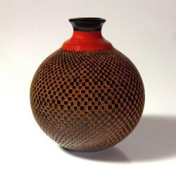 Geometric Squares Pottery (Nicaragua)