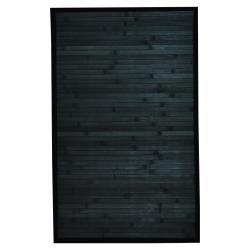Asian Hand-woven Blue Bamboo Rug (1'8 x 2'8)