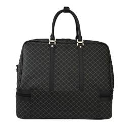 RIONI Signature Black Duffel Dome Traveler
