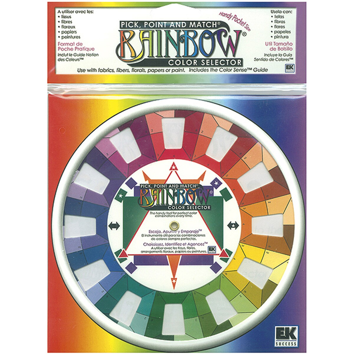 Pick, Point & Match Rainbow Color Selector-5""