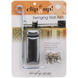 Clip It Up Swinging Wall Arm-9in