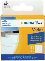EK Success Vario Permanent Adhesive White Tab Refill (1000/Pkg)
