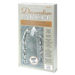 Decorative Arch 8 Feet-White