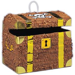 Treasure Chest Pinata (10.5 x 12 x 9)