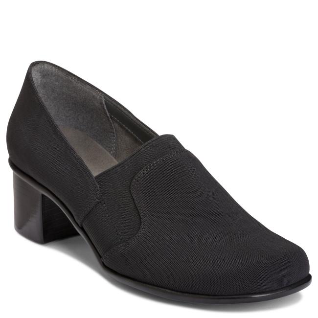 A2 by Aerosoles 'Pepular' Black Fabric Slip On