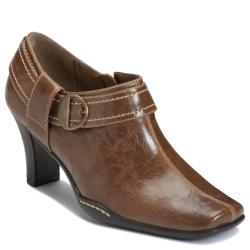 A2 by Aerosoles Fascination Dark Tan Ankle Boot