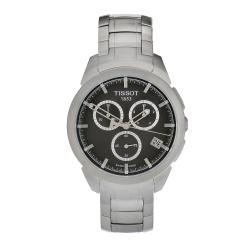 Tissot Men's Titanium Grey Dial Chronograph Watch