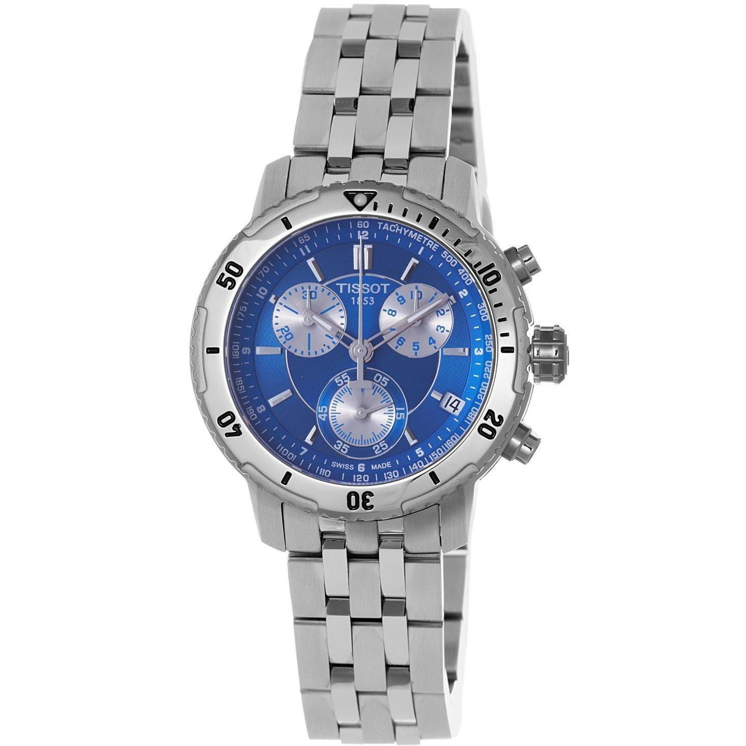 Tissot Men's PRS-200 Blue Chronograph Watch