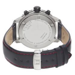 Tissot Men's PRS-200 Black Chronograph Watch