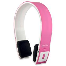 Connectland Pink Modern Over-ear Headset with Microphone