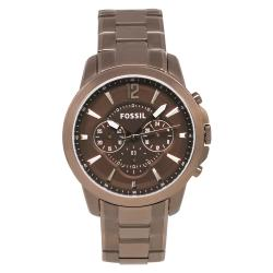 Fossil Men's Classic Brown Steel Watch