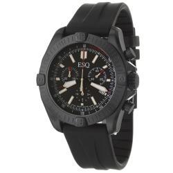 ESQ Men's 7301356 Stratus Round Black Strap Watch