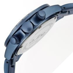 a_line Women's 'Amore' Light Blue Aluminum Watch