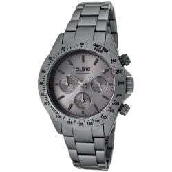 a_line Women's 'Amore' Grey Aluminum Watch