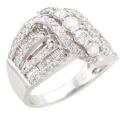 Unending Love 14k White Gold 2ct TDW Diamond Fashion Ring (I-J, I2-I3)