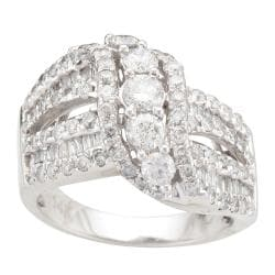 14k White Gold 2ct TDW Diamond Fashion Ring (I-J, I2-I3)