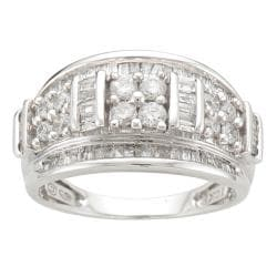 10k White Gold 1ct TDW Diamond Fashion Ring (I-J, I2-I3)